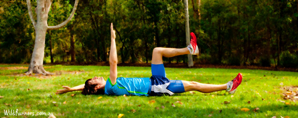 Dead Bug Core Exercise - Wild Runners Brisbane