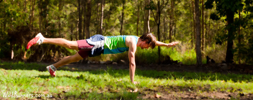 Plank Superman Wild Runners Core Exercise
