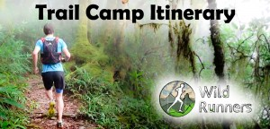 Lamington National Park Run Camp Itinerary
