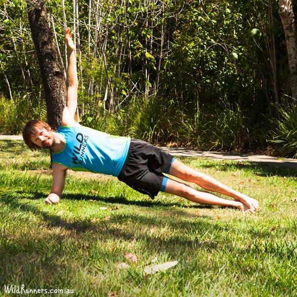 Side Plank Wild Runners Run Training