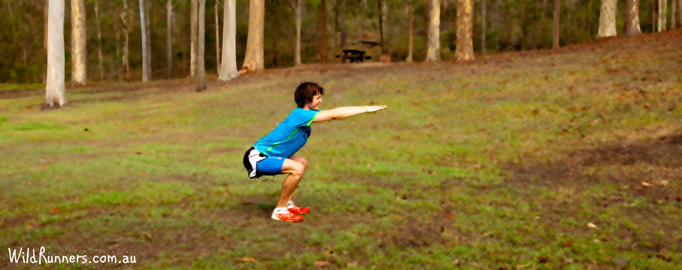 Squat Core exercises for runners