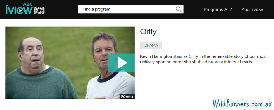 Cliffy - a story about Cliff Young