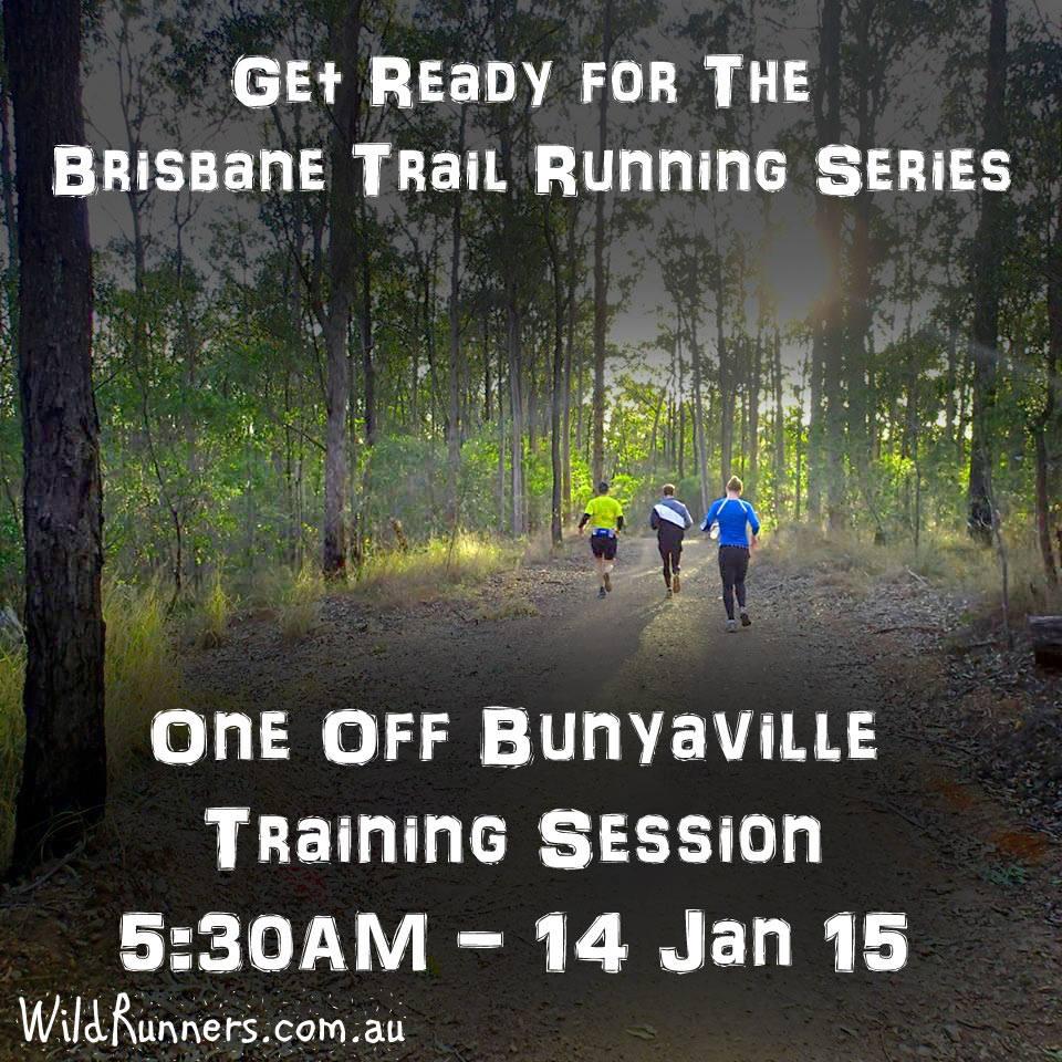 Trail Run Training at Bunyaville Forest