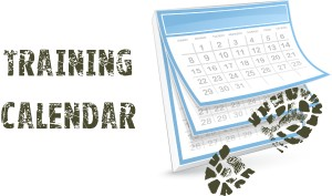 Wild Runners Training Calendar