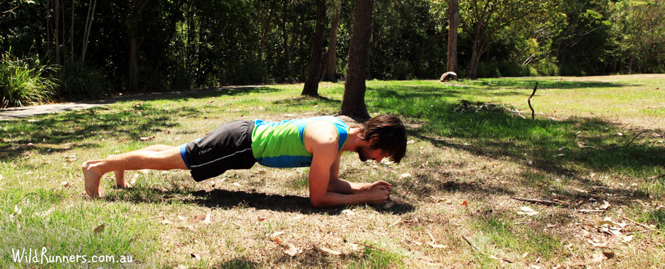 The Plank - Core exercises for runners